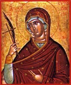 Sfanta Cuvioasa Eufrosina; Sfantul Serghie de Radonej