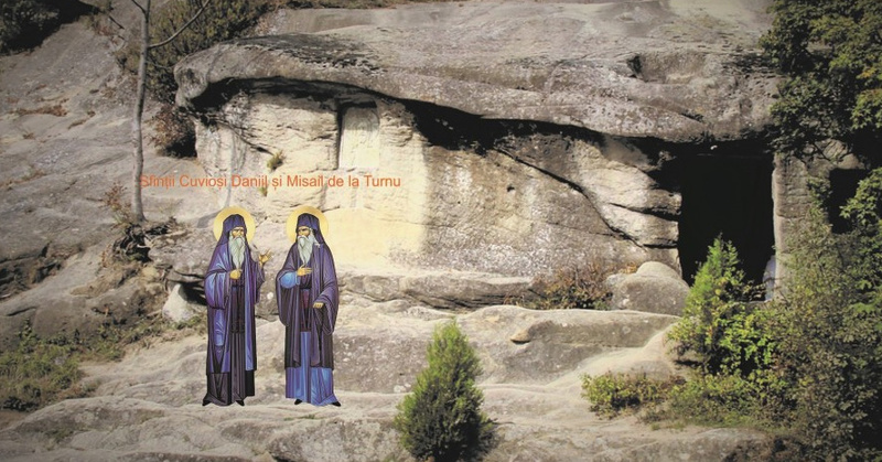 Sfanta Haritina; Sfintii Daniil si Misail de la Manastirea Turnu