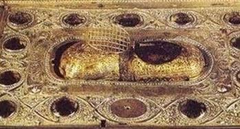 Moastele Sfintei Ana, bunica lui Hristos