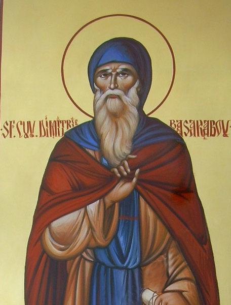 Sfantul Dimitrie Basarabov - Viata