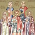 Sfintii Mucenici Achindin, Pigasie, Aftonie, Elpidifor si Agapie