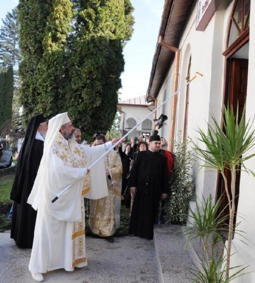 Preafericitul Parinte Patriarh Daniel a sfintit Asezamantul Pastoral-Cultural Sfantul Ierarh Calinic
