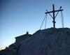Capela de pe varful Muntelui Athos