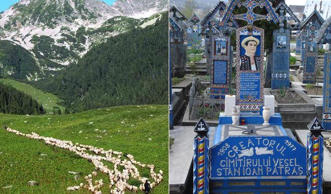 Tara Mioritei si a Cimitirului Vesel