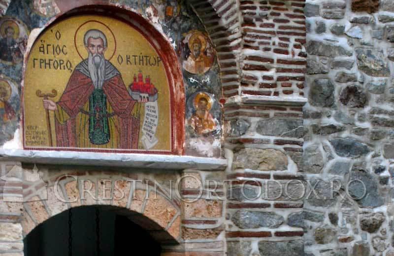Manastirea Grigoriu - Icoana Ctitorului