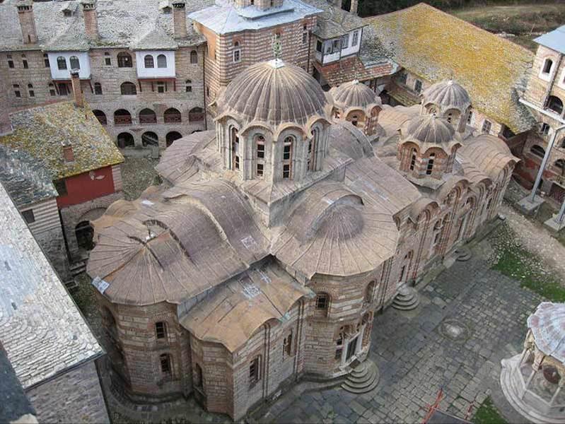 Manastirea Hilandar - Biserica