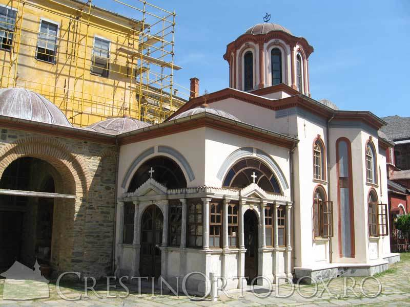 Manastirea Iviron - Paraclisul icoanei Portarita