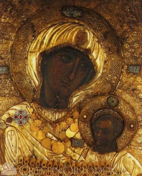 Manastirea Iviron - Icoana Maicii Domnului Portarita