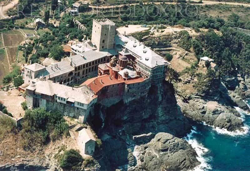 Manastirea Pantocrator - Sfantul Munte Athos