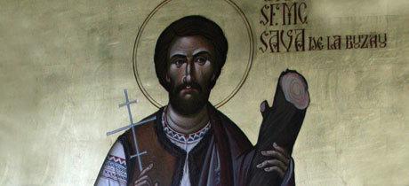 Sfantul Sava de la Buzau, tanarul care a sfintit apele Buzaului
