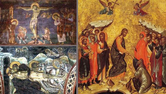 Patimile si Invierea in psalmi