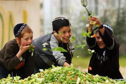 Copiii, la poporul evreu