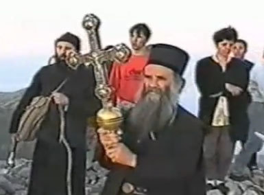 Procesiune religioasa inedita, in Muntenegru