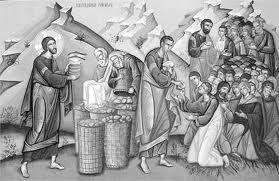 Duminica a VIII-a dupa Rusalii - Inmultirea painilor