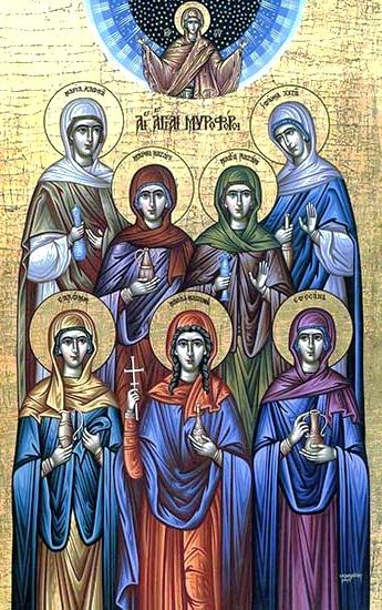 Acatistul Sfintelor Femei iubitoare de Dumnezeu