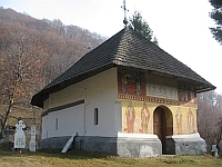 Schitul vechi din Frasinei