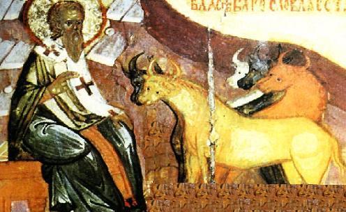 Sfintii si animalele