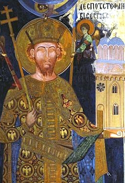 Sfantul Stefan Lazarevici, despotul Serbiei