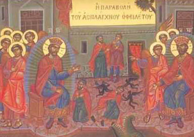 Duminica a XI-a dupa Rusalii - Pilda datornicului nemilostiv