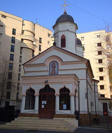 Biserica Sfantul Stefan - Cuibul cu Barza