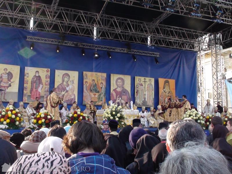Sfanta Liturghie - Sfantul Dimitrie cel Nou
