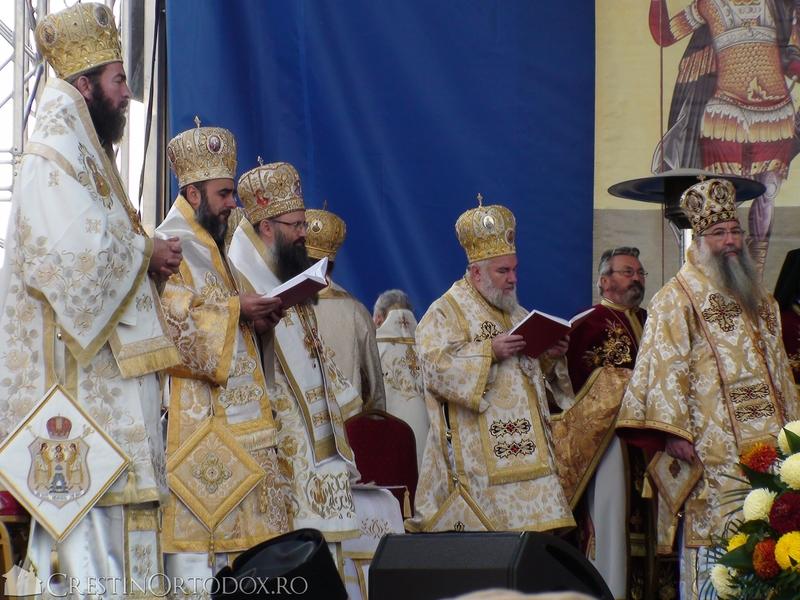 Sfanta Liturghie la sarbatoarea Sfantului Dimitrie cel Nou
