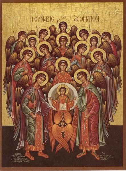 Sfintii Arhangheli Mihail si Gavriil - de la venerarea sfintilor, la cultul ingerilor