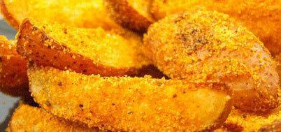 Cartofi in crusta de malai