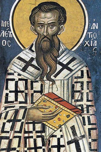 Sfantul Meletie, ocrotitorul surzilor
