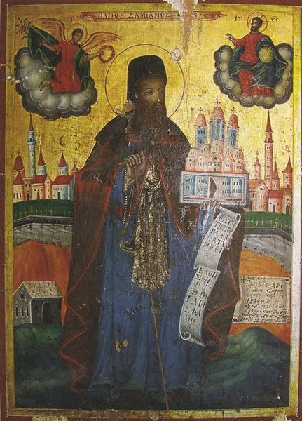 Sfantul Damian Monahul