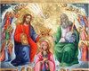 Incoronarea Maicii Domnului, o icoana ortodoxa