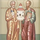 Icoana Sfintii Petru si Pavelhttps://str.crestin-ortodox.ro/foto/1411/141094_petru-pavell_w135_h135.jpg