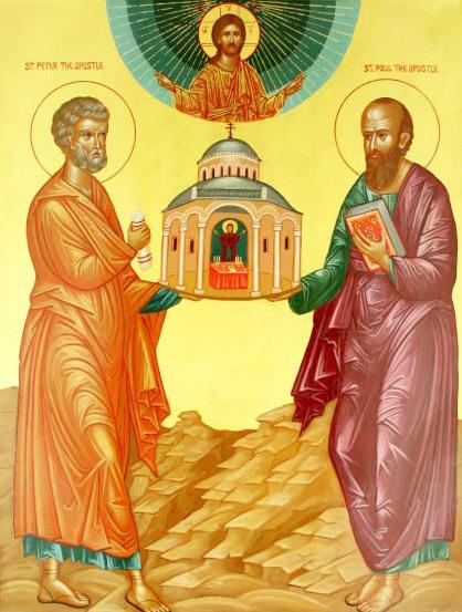 Petru si Pavel, stalpii Bisericii