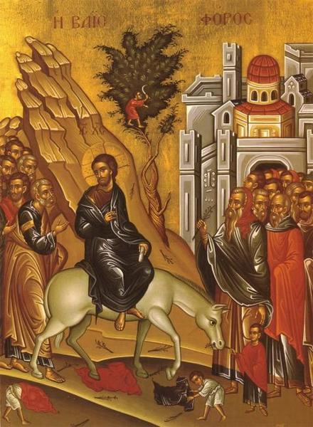 Intrarea triumfala in Ierusalim si refuzul puterii