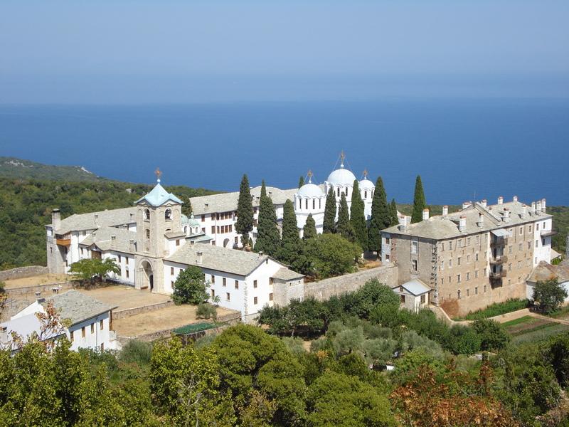 Pelerinaj la Sfantul Munte Athos (13 - 17 august 2013)