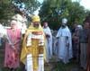 """Praznuirea hramului Bisericii """"Nasterea..."""
