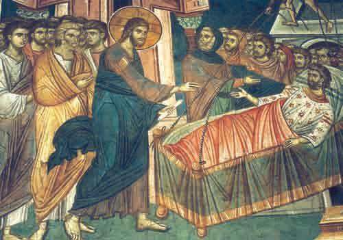 Vindecarea slabanogului din Capernaum: Aratarea iertarii dumnezeiesti