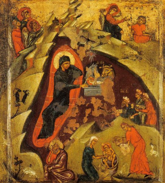 Icoana Nasterii lui Hristos