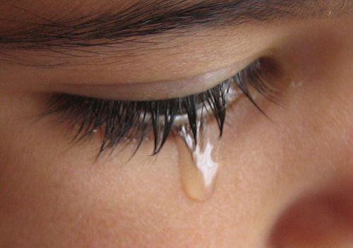 Aici sunt lacrimi