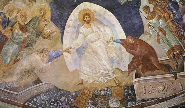 Invierea lui Hristos vazand