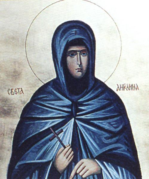 Sfanta Angelina, printesa Serbiei