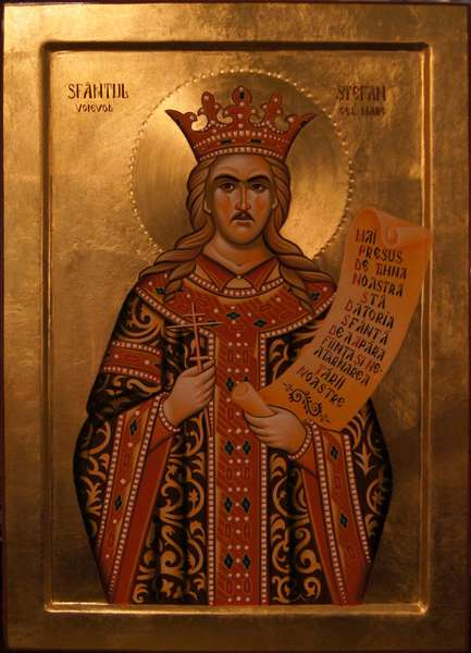 Viata Sfantului Voievod Stefan cel Mare