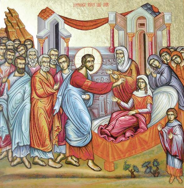Predica la invierea fiicei lui Iair