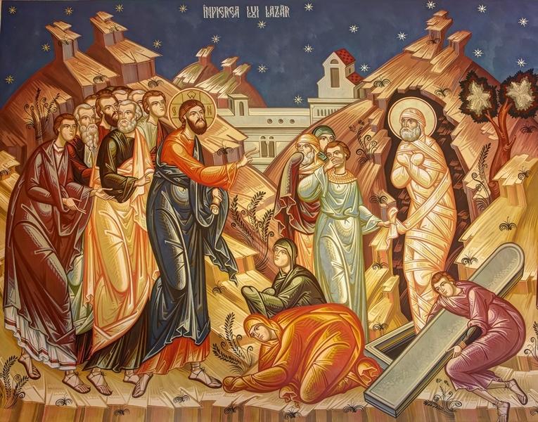 Imagini pentru INVIEREA LUI LAZAR