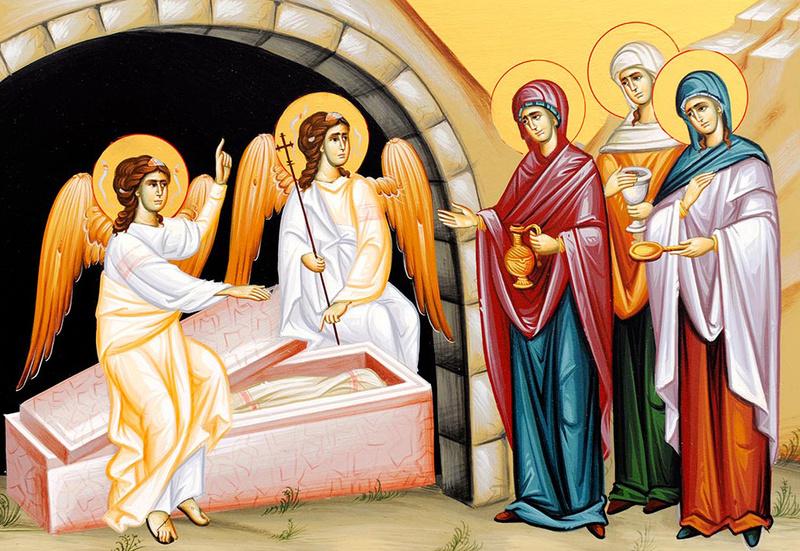 Femeile mironosite - modele de marturisire ale bucuriei credintei