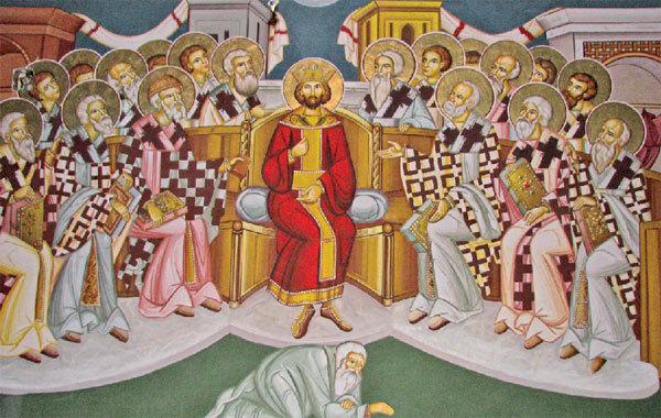Αποτέλεσμα εικόνας για sfantul constantin sinod ecumenic