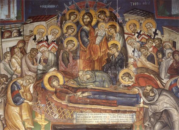 Sarbatoarea Adormirea Maicii Domnului