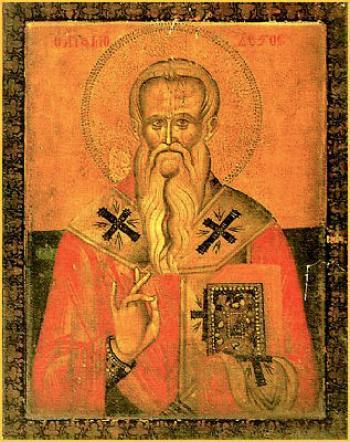 Sfantul Modest, Patriarhul Ierusalimului