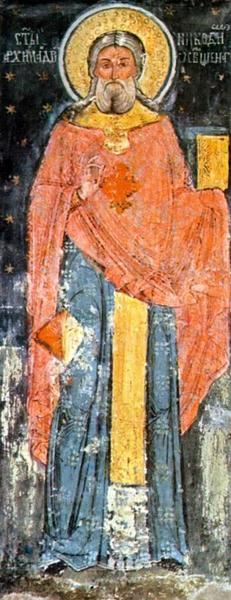 Sfantul Cuvios Nicodim de la Tismana