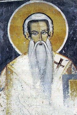 Sfantul Theodosie, egumenul Manastirii Filotheu